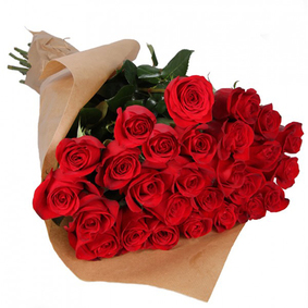 25 Red Roses Bouquet