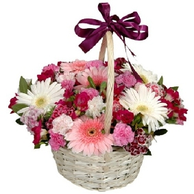 Seasonal Flowers Basket