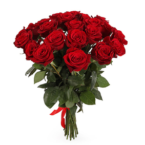 21 Red Roses Bouquet