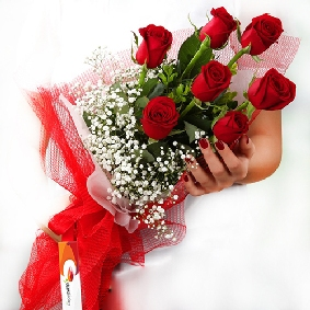 7 Red Rose Bouquet